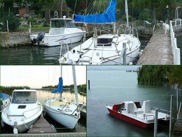 Pilotina di mare, barca a vela, pedalo